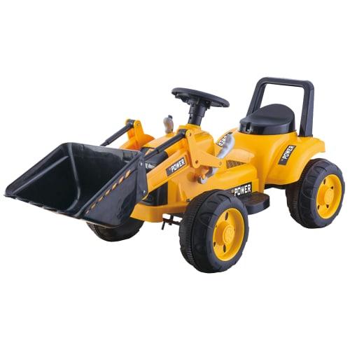 Nordic Play el-traktor med frontlæsser