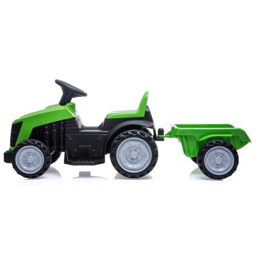 Nordic Play el-traktor med trailer