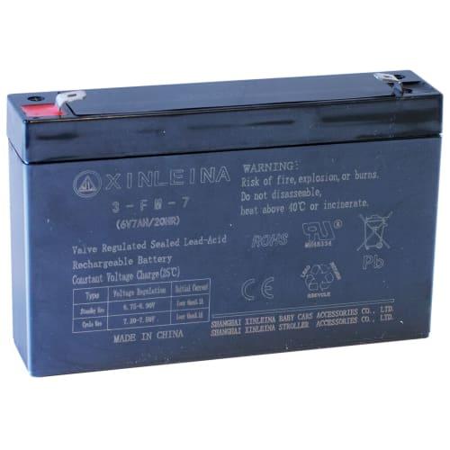 Nordic Play Speed batteri til elbil - 6V/7AH