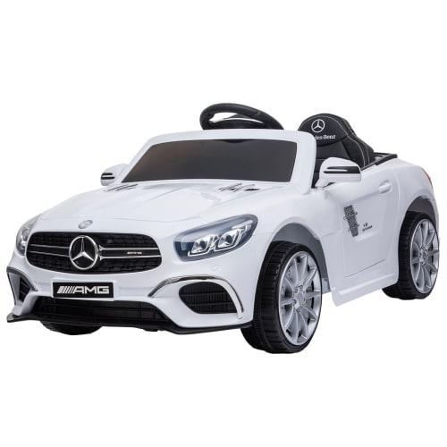 Nordic Play Speed elbil - Mercedes - Hvid