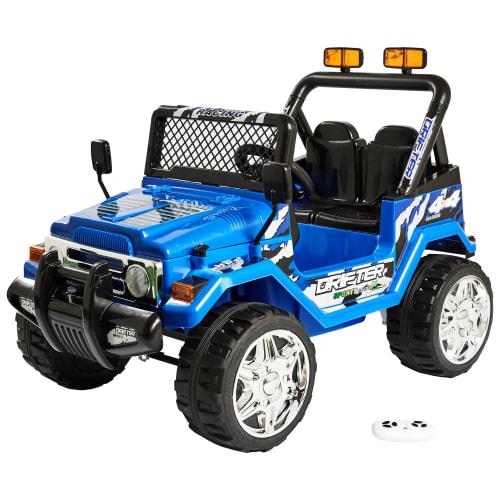 Offroader elbil - Blå