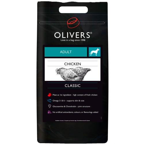 Olivers Petfood Kylling