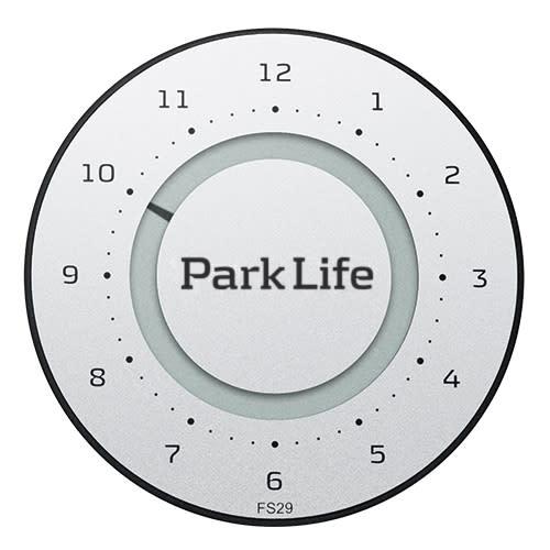 Park Life p-skive – Titanium Silver