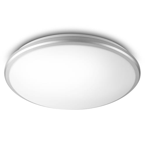 Philips Guppy Ceiling Lamp Grey 1X17W SELV