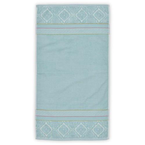 Billede af Pip Studio håndklæde - Soft Zellige - Lys blå