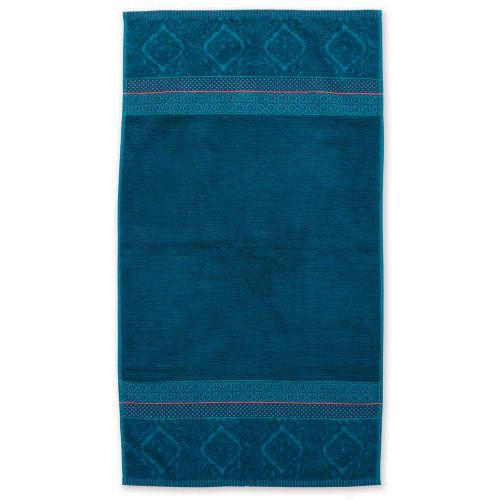 Billede af Pip Studio håndklæde - Soft Zellige - Mørk blå