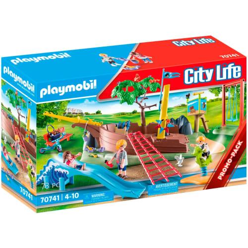 Billede af Playmobil eventyrlegeplads med skibsvrag