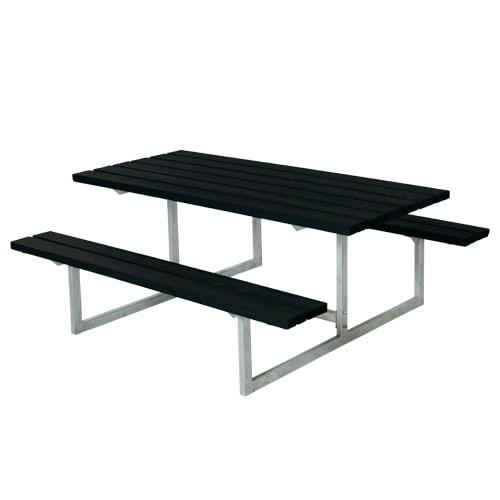 Plus bord- og bænkesæt - Basic - Sort