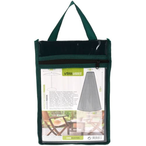 Pro Garden overtræk til parasol - Mørkegrøn