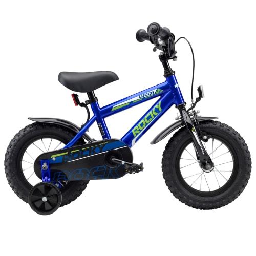 """Rocky Lucca 12"""" drengecykel - Blå"""