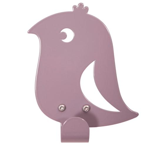 Roommate knage - Bird Hook - Lys lilla