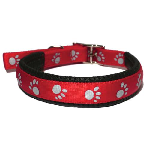 Rosewood hundehalsbånd - Nylon - Rød