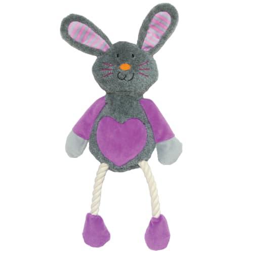Rosewood hundelegetøj - Langbenet kanin