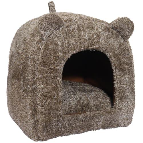 Rosewood kattehule med ører – Brun