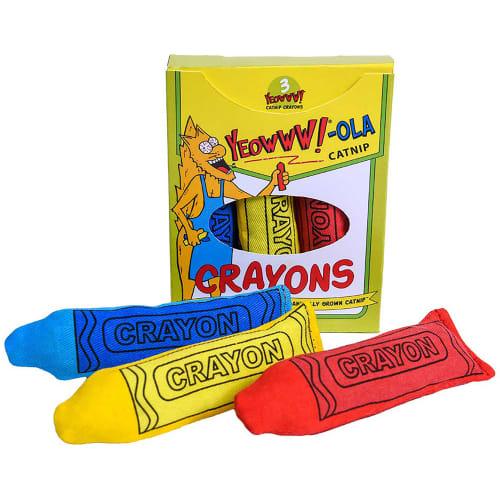 Rosewood kattelegetøj - Yeowww!-ola kridt - 3 stk.