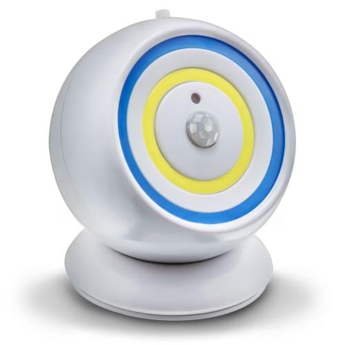 Sensor Bright projektør - Hvid