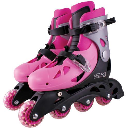 Skate 2 inliners - Pink - Str. 32-35
