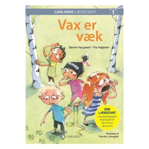 Vax er væk - Carlsens læsestart - Indbundet
