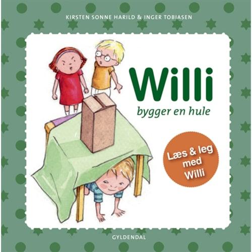 Willi bygger en hule - Indbundet