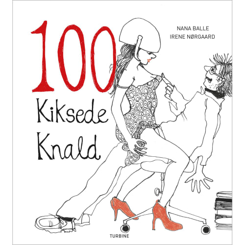 Image of 100 kiksede knald - Hardback