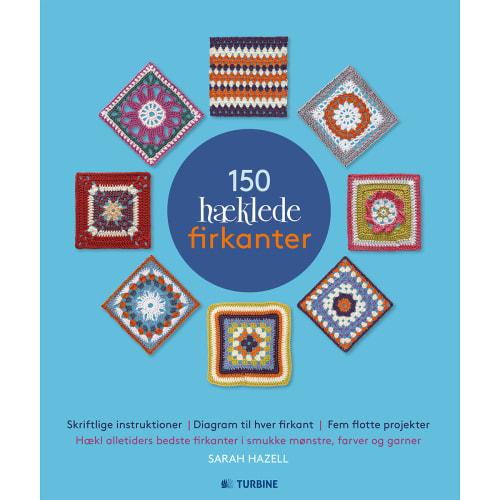 Image of   150 hæklede firkanter - Hæftet