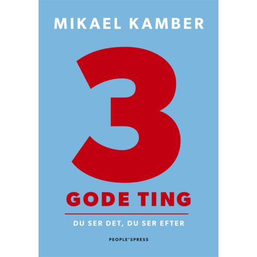 Image of 3 gode ting - Hæftet