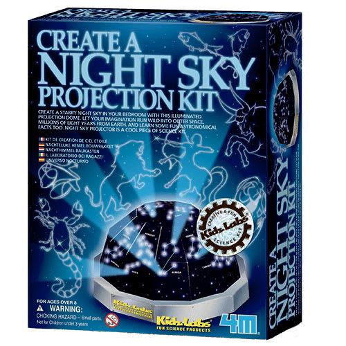 Image of   4M halvkugleprojektor med nattehimmel