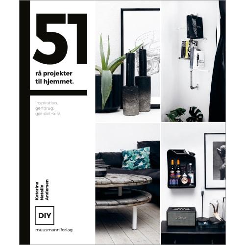 51 rå projekter til hjemmet - Hardback