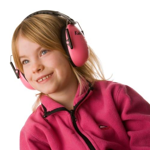 Image of A-Safety høreværn til børn - Pink