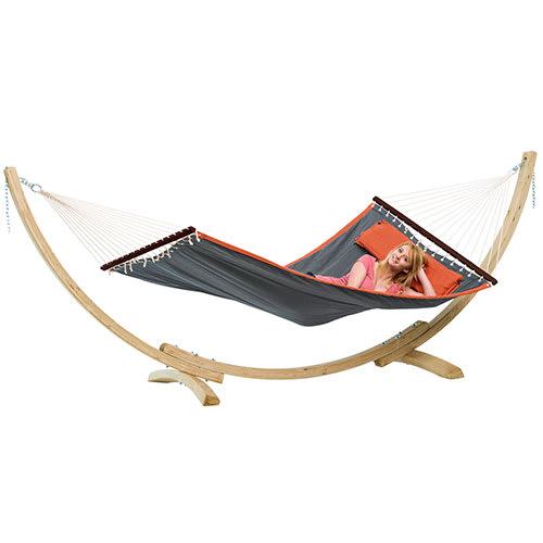 Image of Amazonas hængekøje inkl. stander - American Dream Set - Grå