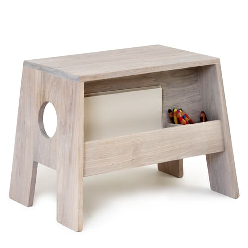 Image of Änglamark bord - Collect Furniture - Stoolesk - Hvid olieret