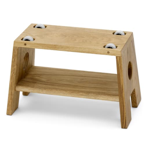 Image of Änglamark skammel - Collect Furniture - Stool - Natur olieret