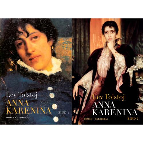 Image of   Anna Karenina - Bind 1 & 2 - Indbundet