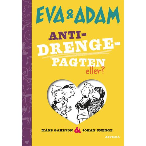 Image of   Anti-drengepagten - eller? - Eva & Adam 3 - Indbundet