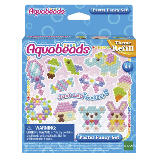Image of Aquabeads perler - Refill - Pastel Fancy