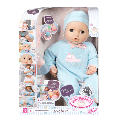 Image of Baby Annabell interaktiv dukke - Bror