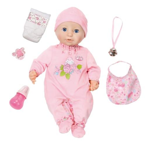 Image of Baby Annabell interaktiv dukke
