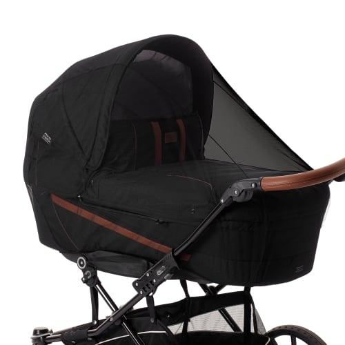 Image of Baby Dan insektnet til barnevogn - Deluxe - Sort