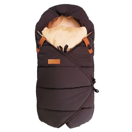 Image of   Babynor by Sleepbag kørepose - Frida - Sort/brun