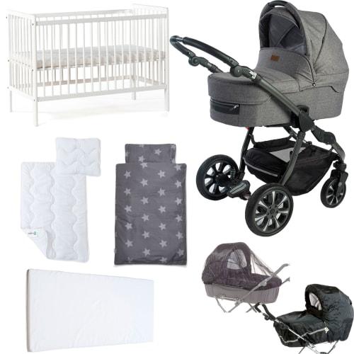 Image of Babynor startpakke - Svala - Grå