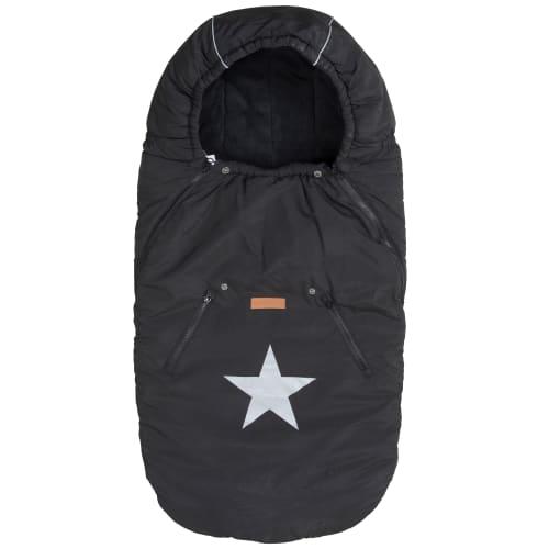 BabyTrold kørepose - Star - Sort
