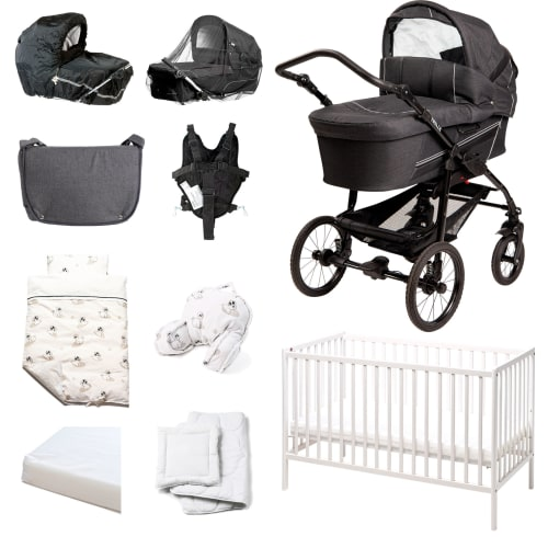 Image of BabyTrold startpakke - Star - New Ebony