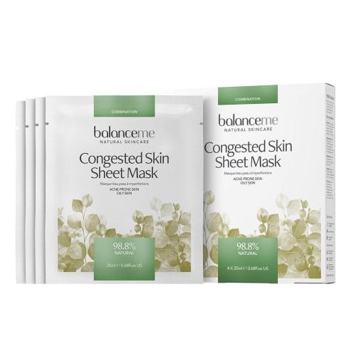 Image of Balance Me Congested Skin Sheet Mask - 4 stk.
