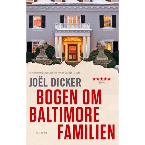 Image of   Bogen om Baltimore-familien - Paperback