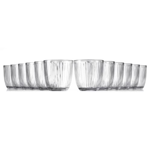 Image of   Bormioli Rocco vandglas - Line - 12 stk