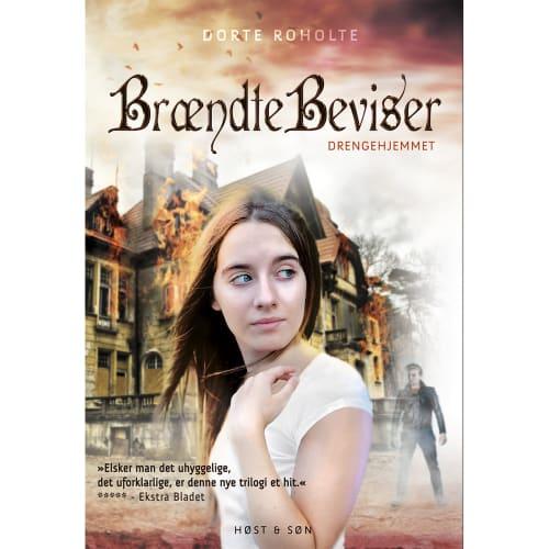 Image of   Brændte beviser - Drengehjemmet 3 - Indbundet