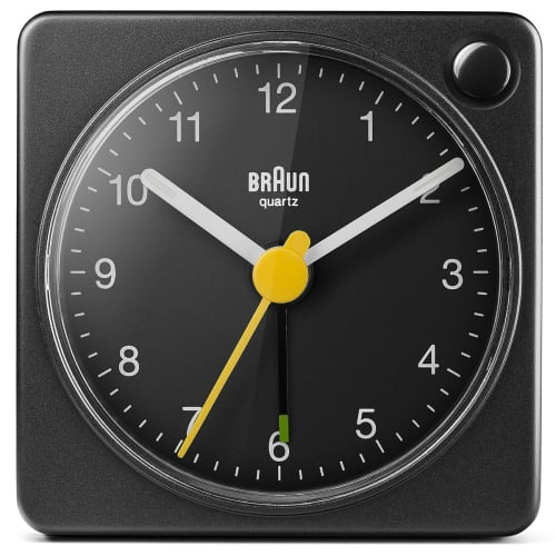 Image of   Braun alarmur - BC02XB - Sort