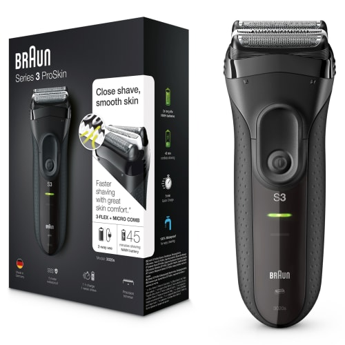 Braun barbermaskine - Series 3 ProSkin - 3020s