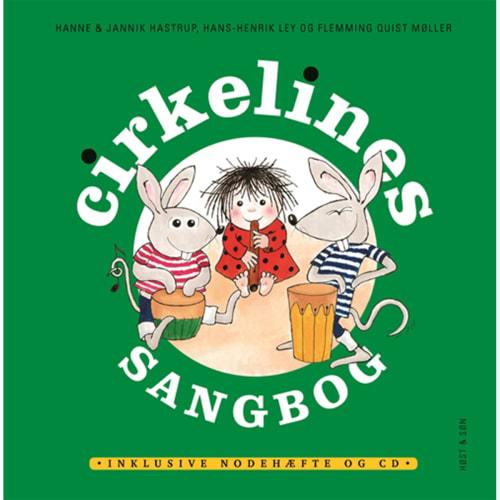 Cirkelines sangbog - Inkl. CD - Indbundet