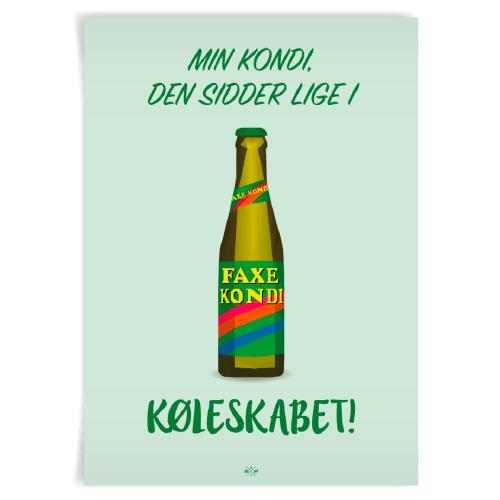 Image of   Citatplakat.dk - Min kondi